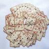 Playingcards revestido plástico/cliente Designes Playingcards/póker del casino