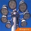 32m neue hohe Mast-Beleuchtung der Ankunfts-400W LED mit dem Anheben und der Senkung der Einheit