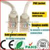 Venta al por mayor Moldeado Alargamiento Snagless Cat5e STP Cable de red