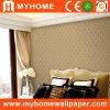 Brown de papier peint pour salle de séjour de luxe
