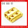 Escolhir/o conetor de cabo de bronze do conetor furo dobro da fiação (MLIE-BTL028)