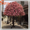 Decoração exterior Árvore de Flor de Cerejeira artificial de fibra de vidro