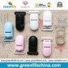 La aduana promocional colorea los sujetadores de clip plásticos ningún mínimo