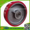 Molde resistente del poliuretano en la rueda del centro del arrabio