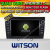 Android Witson 5.1 DVD carro GPS para Peugeot 408 308
