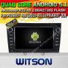 GPS van 5.1 Auto DVD van Witson Androïde voor Peugeot 408 (2010-2011) /Peugeot 308 met de Steun van ROM WiFi 3G Internet DVR van Chipset 1080P 16g (A5634)