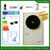 Cop élevé Automatique-Defrsot de Villia 12kw/19kw/35kw Evi de mètre de l'étage Heating100~350sq de l'hiver de Swiss-25c chauffe-eau fendu de pompe à chaleur de 4 tonnes