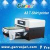 Più nuova stampatrice automatica del tessuto della stampante della maglietta della base A3 di Garros