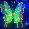 3D Butterfly Motif LED Light Christmas Ornament