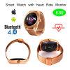 Teléfono elegante del reloj de la muñeca impermeable de Digitaces del chapoteo con el monitor del ritmo cardíaco