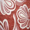 Chenille Jacquard Sofa Upholstery Fabrics avec Polyester 100% Material