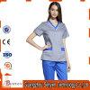 China unisex feita médica esfrega o uniforme do algodão