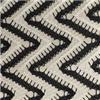 Un tessuto lavorato a maglia merletto di due toni, tessuti 100% del jacquard del poliestere per l'indumento