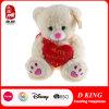 Urso feito sob encomenda do presente do Valentim do brinquedo do urso da peluche do luxuoso da alta qualidade