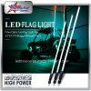 LED-Faser peitscht Optik-flexible LED Sicherheit der RGB-Peitsche-6 Fuß längeren LED-Peitsche-mit Schnelltrennunterseite