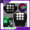 9X10W indicatore luminoso professionale della fase della tabella capa mobile di potere LED