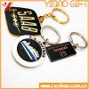 Emaillieren Förderung-Geschenk-heiße Verkaufs-Verkaufs-weicher Decklack/stark Metall Keychain, Metall Keyholder von, Metalschlüsselring (YB-KR-1)
