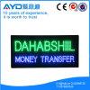 Muestra impermeable de la transferencia monetaria LED del rectángulo de Hidly