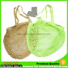 Fruits et légumes de sacs de magasinage net de coton sac Mesh de pliage