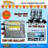 kit OCULTADO H4-3 del xenón 70W