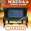 Witson Car DVD Player com GPS para Mazda 6 (W2-D796M)