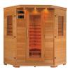 Infrarrojo de la sauna