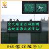 La pantalla video P10 de la información del LED escoge la iluminación verde