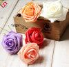 Testa di fiore artificiale della Rosa del Corsage della gomma piuma