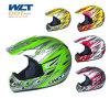 太字のヘルメット(モトクロスのヘルメット、ヘルメットを競争させるオートバイの付属品)