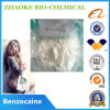 Polvo anestésico local de la materia prima del Benzocaine del envío de la caja fuerte del 100%