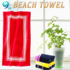 贅沢なベロアによって印刷されるビーチタオル