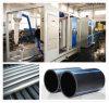 Tubulação de água do HDPE que faz a máquina