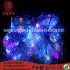 쉘 모양 빛 끈을 꾸미는 LED 점화 크리스마스 훈장 110-220V