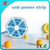 Stijl 4 van de citroen Contactdoos van de Muur van de Schakelaar van het Gebruik van de Familie van de Contactdoos van de Macht USB de Nieuwste Elektrische