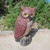 Valstrik van de Uil van het Afschrikmiddel van de Vogel van de Valstrik van de Uil van Zilin de Visuele Doende schrikken Plastic