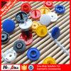 Productos calientes Diseño personalizado de distintos colores Botón Snap oculto