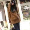 Горячая фуфайка Hoodie застежка-молнии женщин сбывания длиной тонкая Outwear