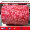 La Chine fleur recouvert de feuille PPGI Pattern en bobines, fleur PPGI