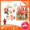 Teatro de madera de los niños del juego de poste para la venta