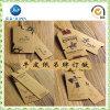 2016 étiquettes faites sur commande de coup de papier d'emballage des meilleurs prix, étiquette du fabriquant de papier de cru (JP-HT012)