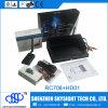 2016 cámara del módulo del transmisor HD 1080P DVR del nuevo producto Sky-HD01 Aio 5.8g 400MW 32CH Fpv y receptor de diversidad de RC708 5.8g HD01+RC708