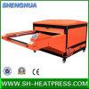 Machine pneumatique automatique de presse de la chaleur de Laction du grand format 2016 double