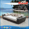 Nieuwe Stijl Sofabed van de Bank van de Rotan van het Terras van de manier de Openlucht
