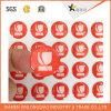 Alta calidad de impresión de etiquetas de encargo de la resina de epoxy auto-adhesivo de la etiqueta engomada de la bóveda