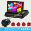 4.3 polegadas flip Sensor de estacionamento com 4 sensores e câmera de visão traseira Xy-8548