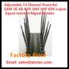 14 GSM van de Telefoon CDMA van de Desktop van de band de Mobiele 3G 4G Stoorzender van de UHF-radio van wi-FI Lojack VHF