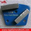 almofadas de moedura concretas do assoalho do metal do segmento de 40X10X10mm