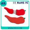 Azionamento promozionale dell'istantaneo del USB di figura dei peperoncini rossi