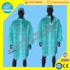 Nonwoven устранимое пальто лаборатории, устранимое пальто куртки лаборатории, рисберма мантии SBPP медицинская