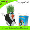 Happy Kids Handmade Make up Growing Grass Hair Head Educational Importer of Toy Wholesale for Kids